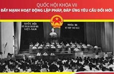 Quốc hội khóa VII: Đẩy mạnh hoạt động lập pháp đáp ứng yêu cầu đổi mới