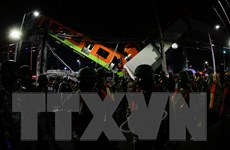 Mexico tiếp tục hỗ trợ các nạn nhân vụ sập đường sắt trên cao