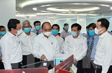 Chủ tịch nước thăm một số cơ quan báo chí lớn của TP Hồ Chí Minh