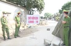 Dịch COVID-19: Hưng Yên gỡ bỏ phong tỏa ổ dịch tại huyện Phù Cừ