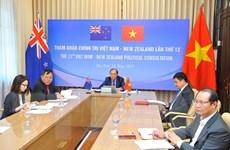 Quan hệ hợp tác Việt Nam-New Zealand ngày càng phát triển mạnh mẽ