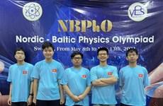 Học sinh Hà Nội đoạt huy chương Kỳ thi Olympic vật lý Bắc Âu-Baltic