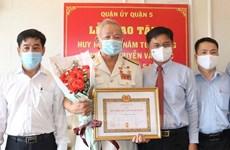 Thành phố Hồ Chí Minh: Trao Huy hiệu Đảng cho hơn 2.100 đảng viên