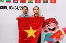 Hà Tĩnh: 2 cậu bé lớp 6 đạt Huy chương Đồng Olympic Toán quốc tế TIMO