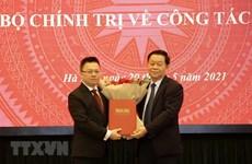 [Video] Ông Lê Quốc Minh làm Tổng Biên tập Báo Nhân dân