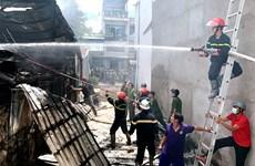 An Giang: Hỏa hoạn thiêu rụi 3 căn nhà tại thành phố Long Xuyên