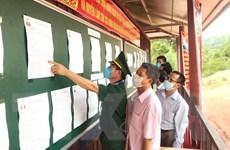 Quảng Bình: Người dân vùng biên giới phấn khởi bầu chọn đại biểu ưu tú