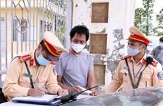 Cảnh sát Giao thông bảo đảm trật tự, an toàn giao thông phục vụ bầu cử