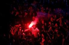 Fan Atletico Madrid ăn mừng cuồng nhiệt sau chức vô địch La Liga