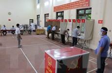 Bắc Ninh: Cử tri đi bầu cử an toàn trong 'tâm dịch' Mão Điền