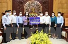 Phó Chủ tịch nước thăm và động viên nhân dân Bắc Giang, Bắc Ninh