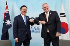 Hội nghị G7: Hàn Quốc, Australia mở rộng 'chân trời hợp tác kinh tế'