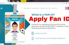 Cảnh báo công dân Việt Nam nhập cảnh Nga xem EURO 2020 bằng Fan ID