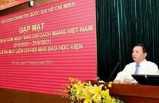 Ra mắt Liên chi hội Nhà báo Học viện Chính trị quốc gia HCM