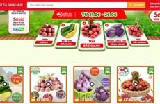 Phiên chợ nông sản Việt trực tuyến lên sàn thương mại điện tử Sendo