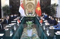 Việt Nam-Singapore hướng tới một thỏa thuận song phương về kinh tế số