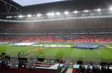 Sân Wembley đón 65.000 người hâm mộ xem các trận bán kết và chung kết