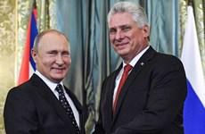 Tổng thống Nga Putin điện đàm với Chủ tịch Cuba Canel Bermudez