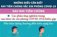 Phản ứng nghiêm trọng sau tiêm vaccine COVID-19 là hiếm gặp