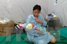 Hà Giang: Hỗ trợ sản một phụ sinh con an toàn trong khu cách ly