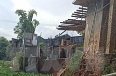 An Giang: Ban bố tình huống khẩn cấp sạt lở bờ Đông sông Châu Đốc