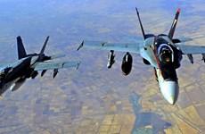 Quân đội Mỹ tiến hành không kích nhiều địa điểm ở Iraq và Syria