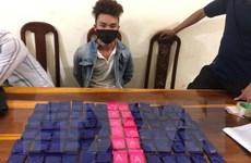 Công an tỉnh Điện Biên phá thành công hai chuyên án ma túy lớn