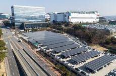 """Samsung sẽ chuyển hoàn toàn sang các phương tiện """"xanh"""" vào năm 2030"""