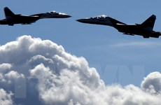 Chiến đấu cơ Nga xuất kích chặn máy bay do thám Mỹ trên Biển Đen