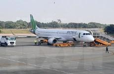 Sắp khai thác tàu bay hiện đại Embraer tại sân bay Điện Biên