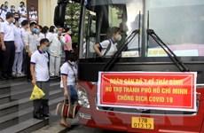 Thái Bình 'chia lửa' cùng Thành phố Hồ Chí Minh chống dịch COVID-19