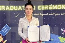 Nữ tiến sỹ Việt Nam nhận giải thưởng quốc tế về nghiên cứu nhiễm mặn