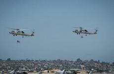 Mỹ bàn giao 2 máy bay trực thăng MH-60R đầu tiên cho Ấn Độ