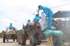 Phú Yên: Những 'lá chắn sống' trên tuyến đầu chống dịch COVID-19