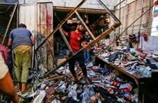 Nổ lớn tại ngoại ô thủ đô Baghdad của Iraq gây nhiều thương vong