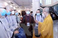 Lực lượng tình nguyện tôn giáo hỗ trợ tuyến đầu chống dịch tại TP.HCM