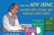 [Infographics] Nhà văn Sơn Tùng - Người viết về Bác Hồ thành công nhất