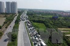 Hà Nội cần thêm bãi đỗ xe để giảm tải cho chốt kiểm dịch cầu Phù Đổng