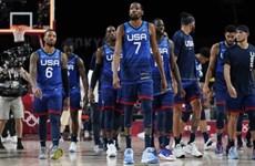 Olympic Tokyo 2020: Đội tuyển bóng rổ Mỹ thua trận đầu tiên từ 2004