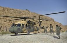 Mỹ tiếp tục thực hiện các cuộc không kích hỗ trợ quân đội Afghanistan