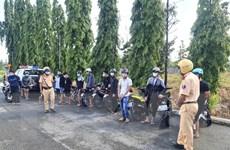 Cảnh sát giao thông Đồng Nai ngăn chặn kịp thời nhóm đua xe trái phép