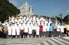 Cán bộ y tế Hà Giang, Bình Định hỗ trợ các tỉnh phía Nam chống dịch