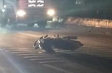 4 người chạy xe máy từ Bình Dương về quê Lào Cai gặp tai nạn