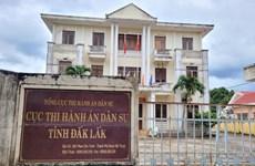Cho thôi việc Cục trưởng Cục thi hành án dân sự tỉnh Đắk Lắk