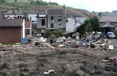 Bỉ và Đức chật vật xử lý lượng rác thải khổng lồ sau đợt lũ lụt