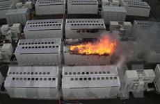 Australia: Đã kiểm soát được đám cháy tại nhà máy pin của Tesla