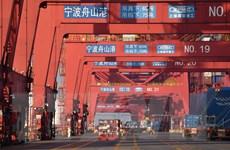 Trung Quốc: Hoạt động xuất-nhập khẩu 'hạ nhiệt' trong tháng Bảy