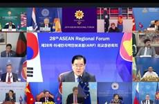 ARF kêu gọi duy trì an ninh và tự do hàng hải tại Biển Đông