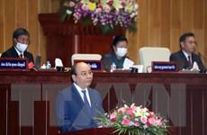 Toàn văn bài phát biểu của Chủ tịch nước tại phiên họp Quốc hội Lào