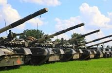 Ukraine bắt đầu các cuộc tập trận sỹ quan chỉ huy kéo dài 5 ngày